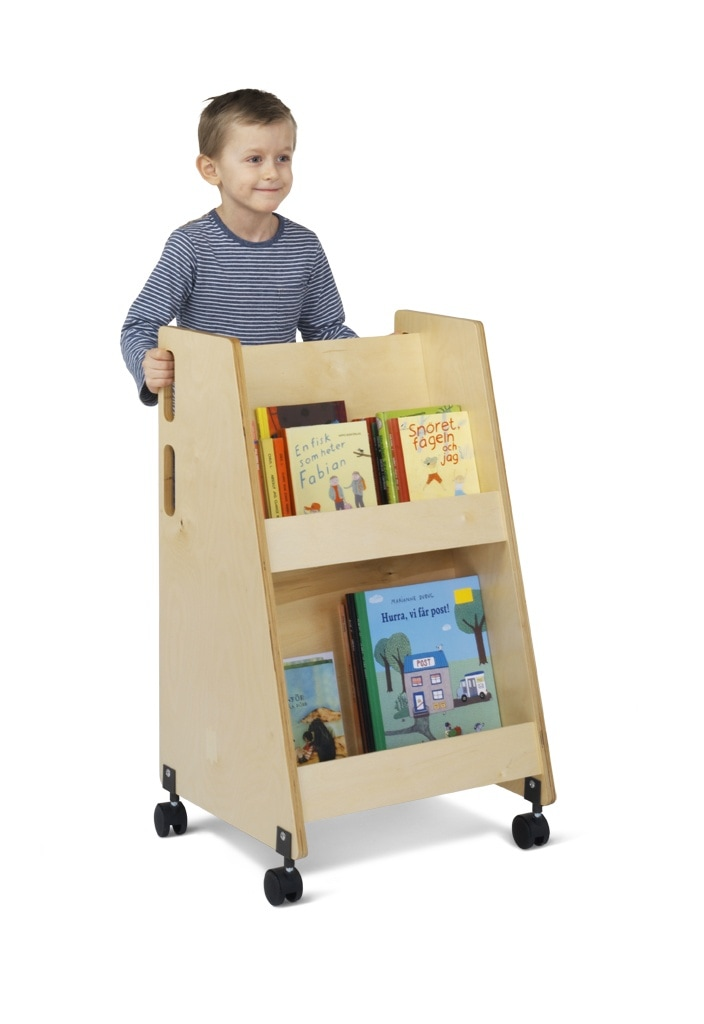 Lewis book trolley
