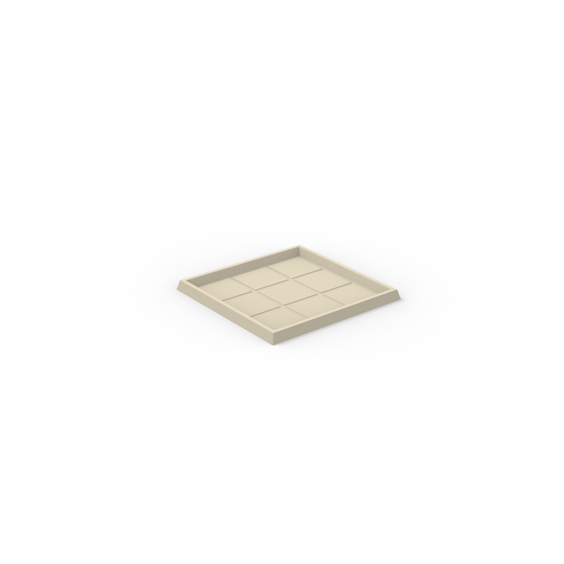 SQUARE TRAY 60x60