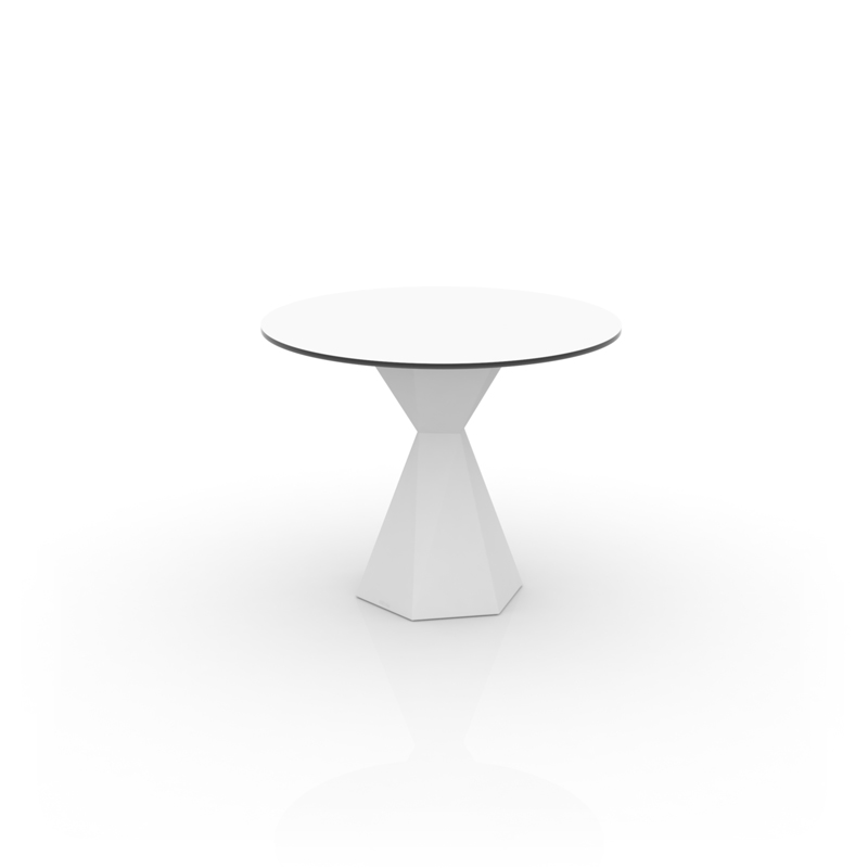 VERTEX TABLE Ø90 HPL
