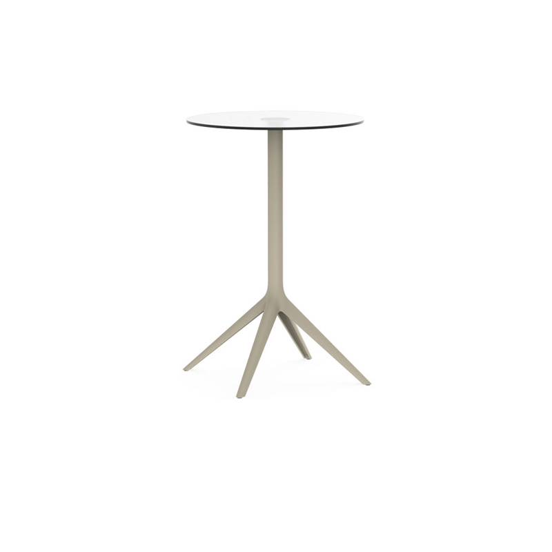 MARI-SOL Table base Dm. 80 h 105 cm