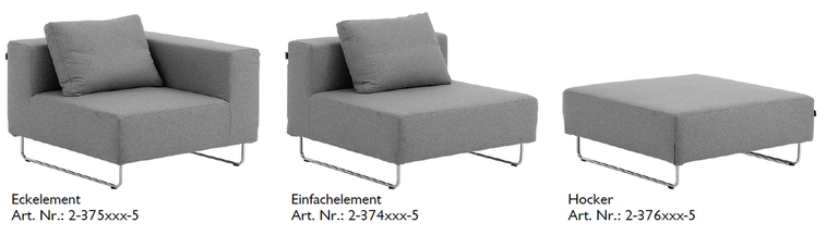 OHIO Modular Sofa / Hocker