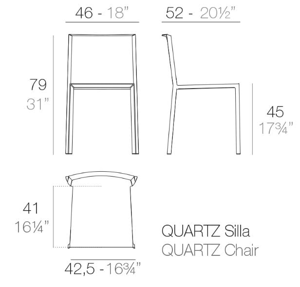 QUARTZ CHAIR